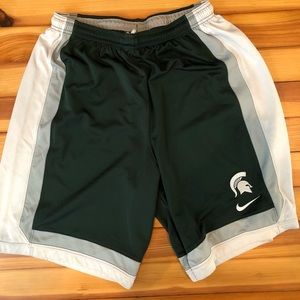 Nike Michigan State Spartans Practice Shorts